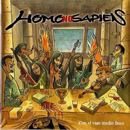Homo no Sapiens Con el Vaso Medio Lleno nuestro rock punk ska metal